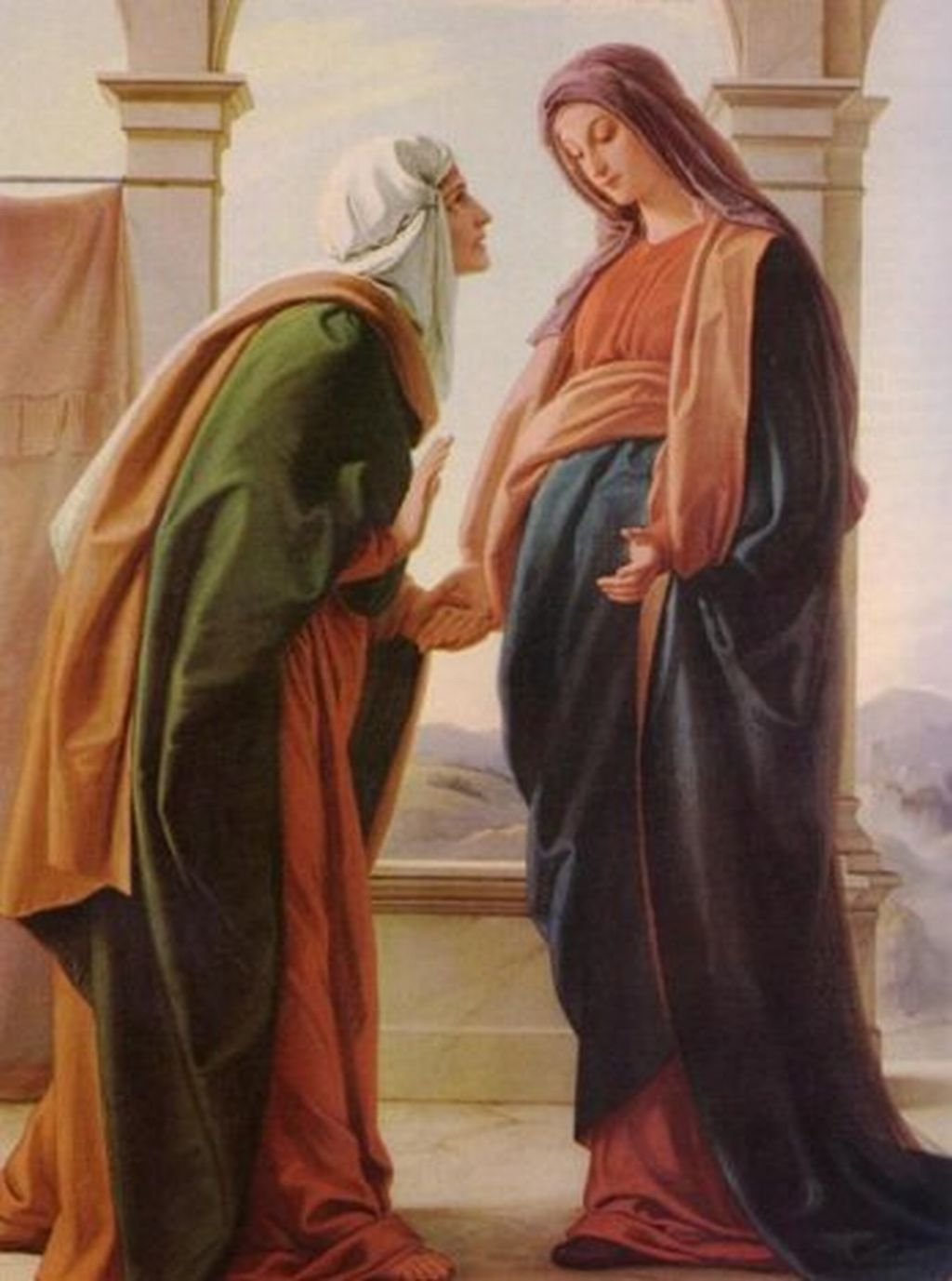 Readings Reflections Feast Of The Visitation Of The Blessed