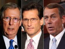 "THE ""RICH CLASS MAFIA"": Sen. McConnell, Rep. Canotor and Rep. Boehner"