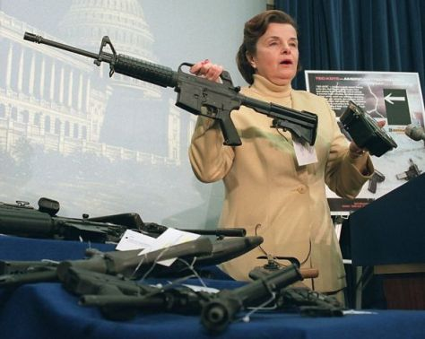 Sen. Dianne Feinstein led the effort to ban assault weapons after a mass shooting in San Francisco.Photo: John Duricka, Associated Press / SFRead more: http://www.sfgate.com/opinion/article/Feinstein-presses-for-assault-weapons-ban-3741632.php#ixzz2Fe7qncZJ