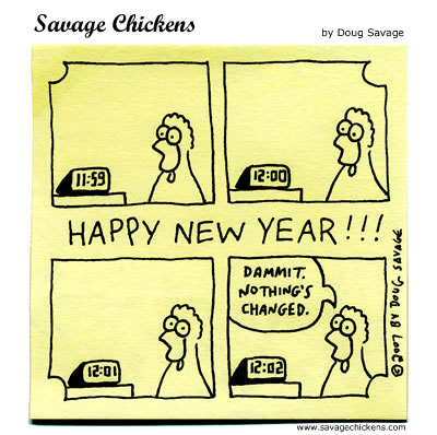 HAPPY NEW YEAR CARTOON #2 « GoodOleWoodys Blog and Website