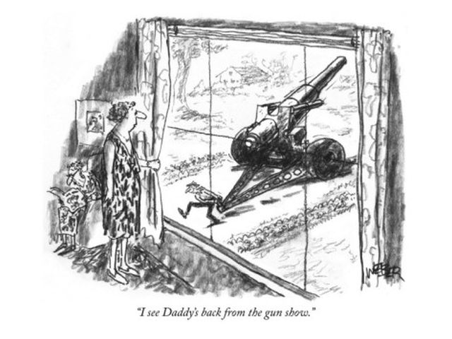 robert-weber-i-see-daddy-s-back-from-the-gun-show-new-yorker-cartoon