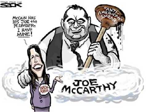 Image result for New McCarthyism CARTOON