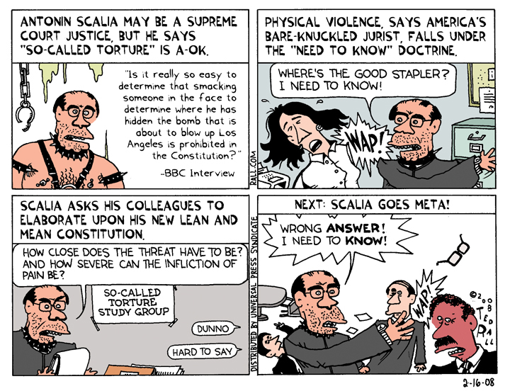 Bitch-Slapping Scalia