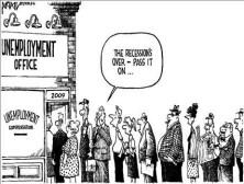 cartoonunemploymentlinerecessionover