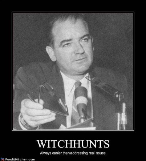 Image result for mccarthyism clinton