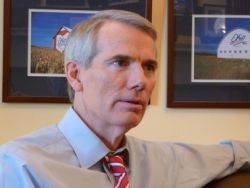 U.S. Sen. Rob Portman discusses his views on gay marriage in his office on Capitol Hill.Sabrina Eaton/The Plain Dealer