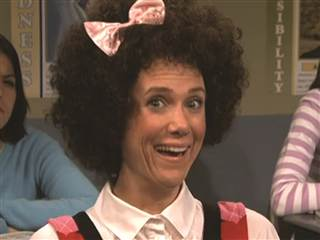 "Kristen Wiig as Gilly on ""Saturday Night Live."""