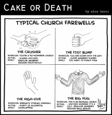 cake-or-death-christian-cartoons-by-alex-baker-219-cartoon-farewells-handshakes-march-25-2011-large1