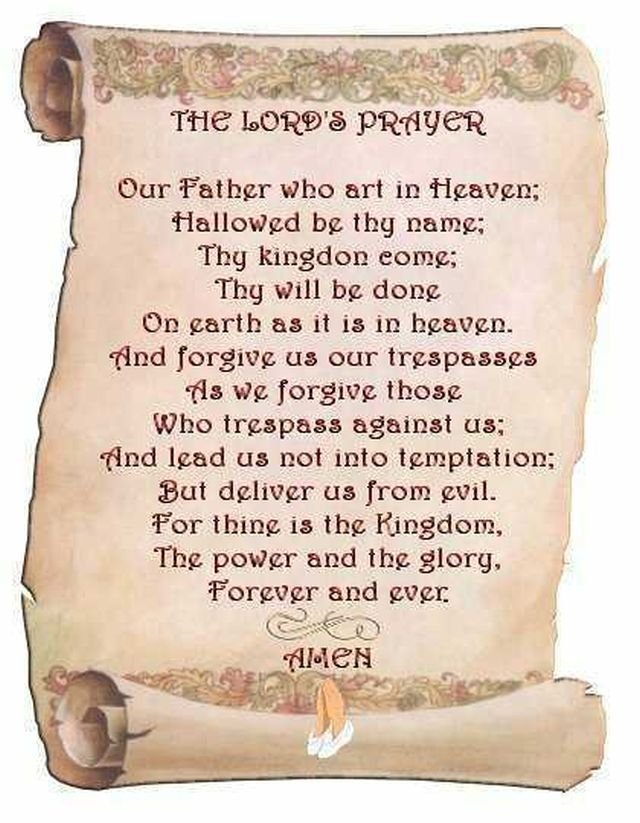 Lords-prayer