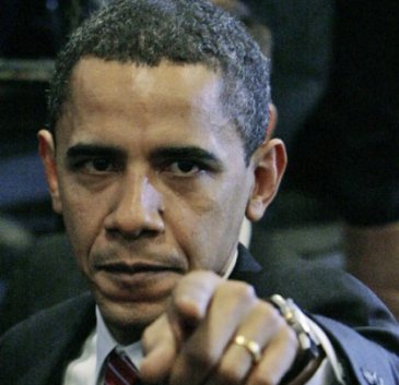 This is our President angry!