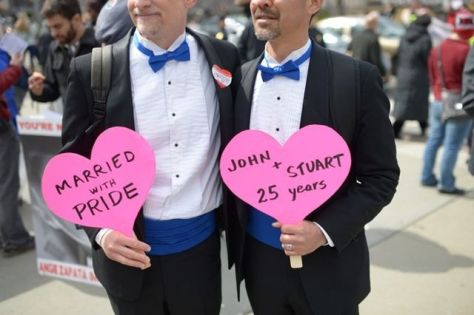 May God be with all gays who enter into marriage