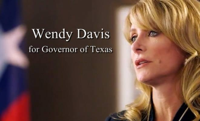 WENDY DAVIS GOV  TEXAS 1013715_464751933619586_1873436522_n