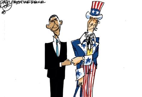 20081104-Obama-Cartoon-UncleSamFistBump-Bagley
