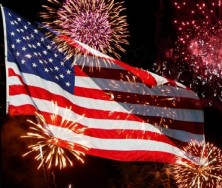 GOD BLESS AMERICA, LAND THAT WE LOVE!