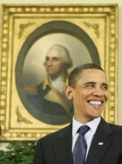 The First and Forty-fourth Presidents