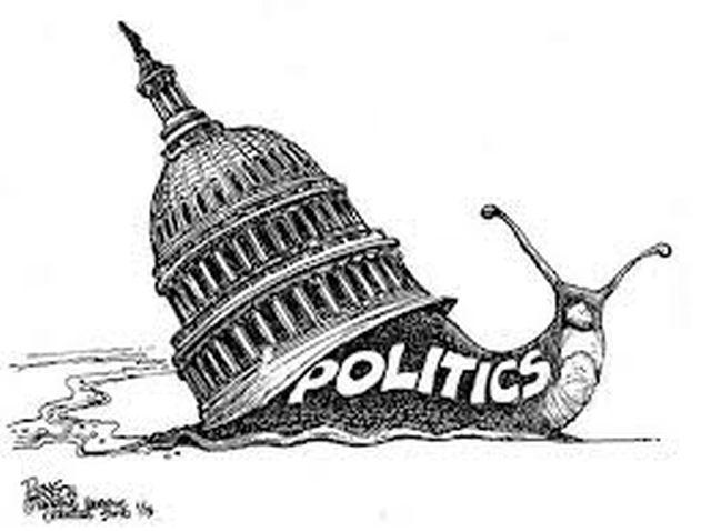 Politics cartoon