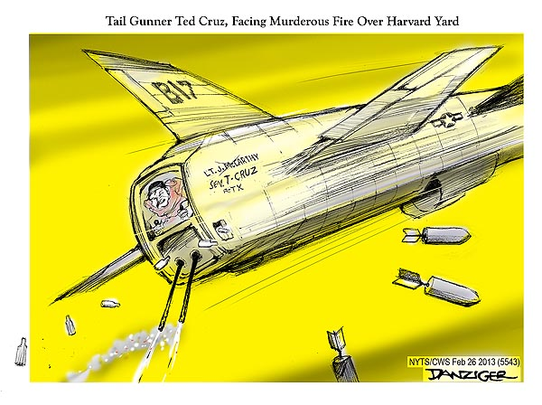 Tail Gunner Ted Cruz