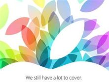 """Apple The press invite for Apple's Oct. 22 event promised """"a lot to cover."""""""