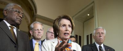 Nancy Pelosi, James Clyburn, Steny Hoyer, Steve Israel, Joseph Crowley