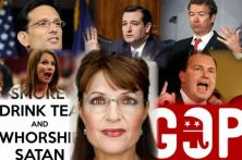 WHO DOES TEA PARTY WORSHIP small