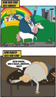 Rob Ford Crack Cartoon 03