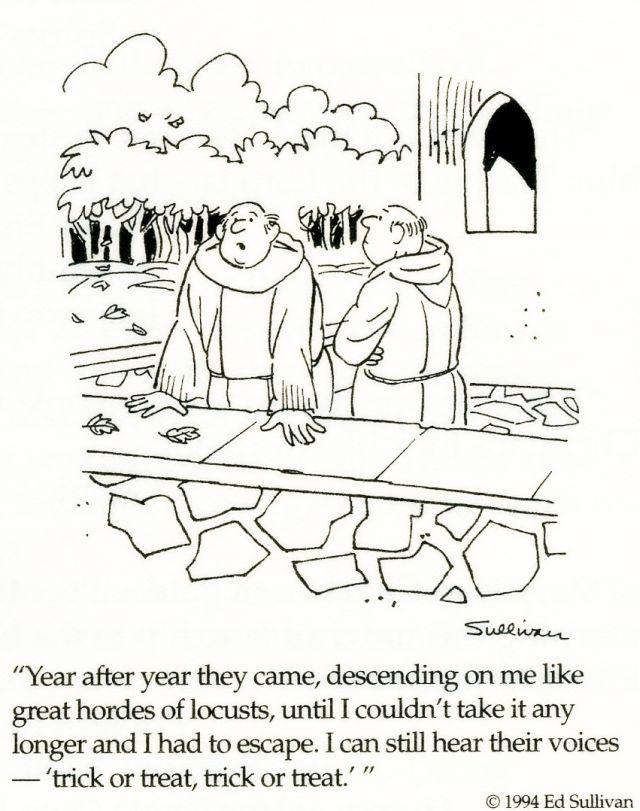 Cartoon for October 31, 2010