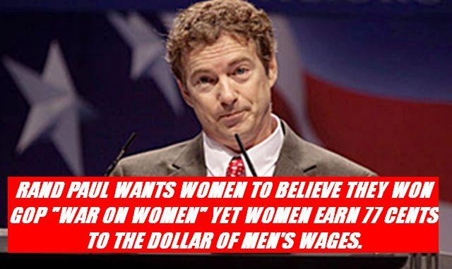 RAND PAUL ON WOMEN