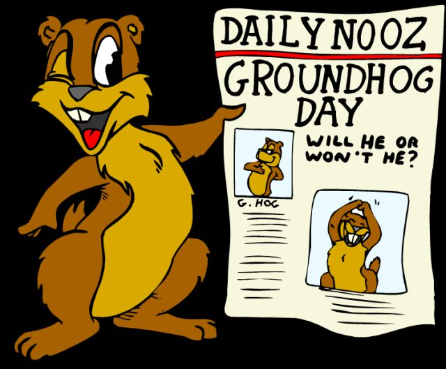 GROUNDHOG DAY 20517793_clipart