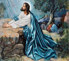 jesus-in-garden-mosaic