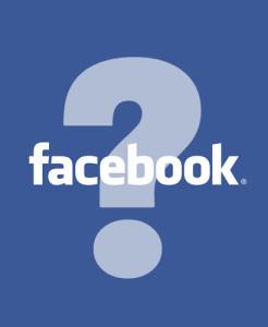Facebook question mark