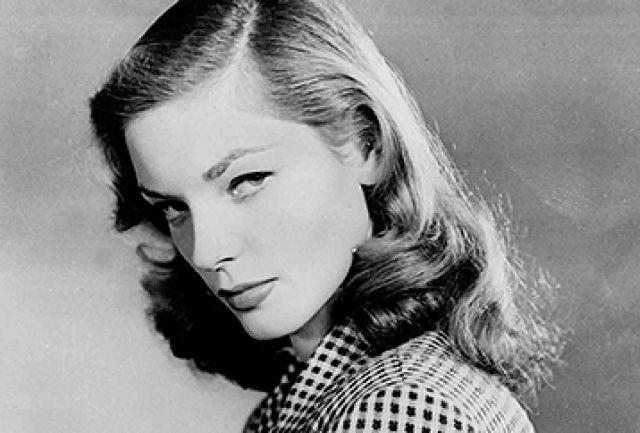 Lauren Bacall in 1944. (AP)