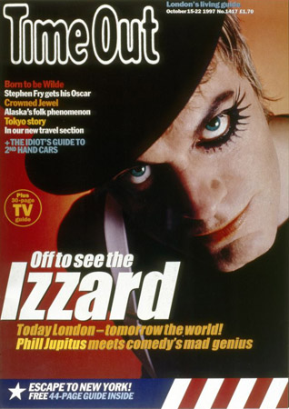 Eddie Izzard Time Out cover