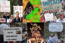 TEA PARTY RACIST SIGNS