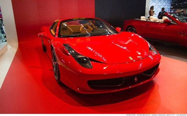 Ferrari is recalling over 3,000 Ferrari 458 sports cars because people could be trapped in the front trunk.