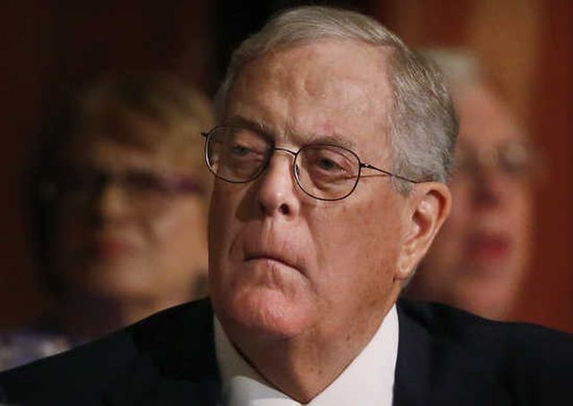 David Koch, not holding up well under scrutiny.