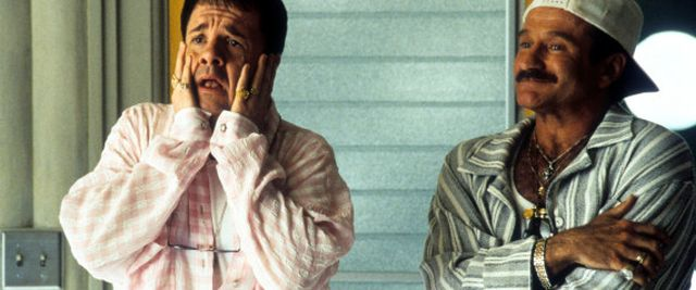 Nathan Lane And Robin Williams In 'The Birdcage'