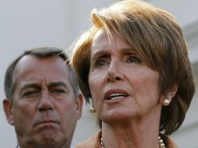 JOHN BOEHNER AND NANCY PELOSI