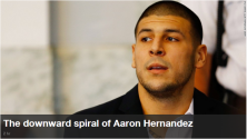 He was an NFL star with a new $40 million contract. Now Aaron Hernandez is getting ready to stand trial for murder. How did he get here?