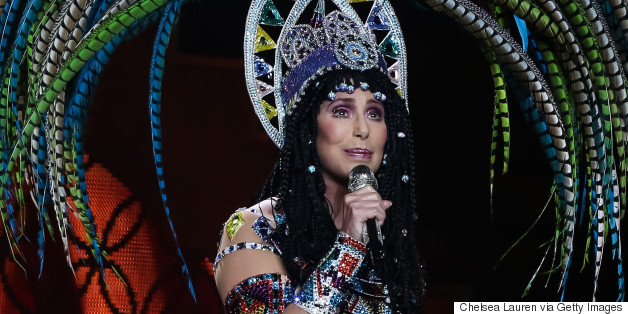 """Cher In Concert With Cyndi Lauper """"Dressed 2 Kill"""" Tour - Los Angeles, CA"""