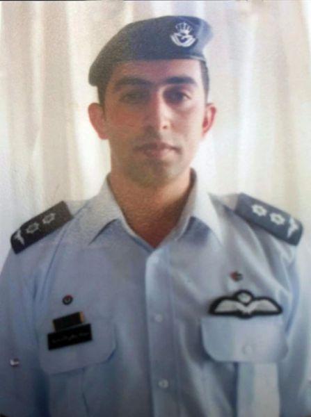 Lt. Muath al-Kaseasbeh. (Jordan News Agency handout via EPA)