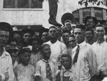 attribution: Public Domain photo of Lige Daniels - an African American teenager lynched in Texas