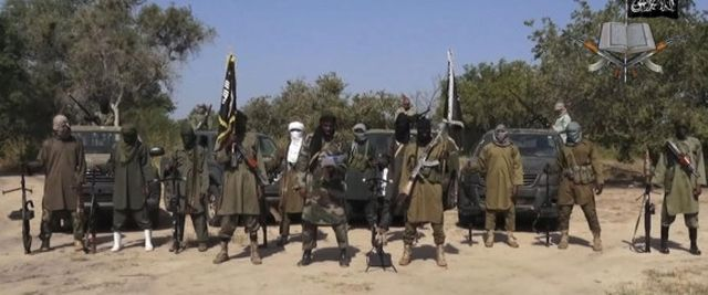 A file image taken from video released Oct. 31, 2014 by Boko Haram. (AP Photo/Boko Haram,File) | ASSOCIATED PRESS