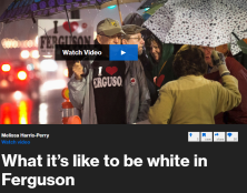 What is happening with the 29% of Ferguson who is white? How have the protests, national media attention, and DOJ report detailing the city's pattern and practice of racial inequality changed how they feel about their city? Msnbc's Amanda Sakuma reports.
