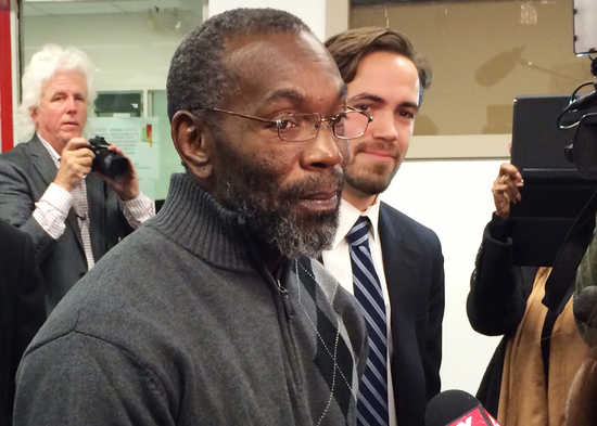 Ricky Jackson, exonerated after wrongly serving 39 years in prison
