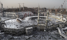 THE HAJJ PILGRIMAGE DRAWS MORE THAN 2 MILLION