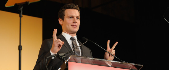 NEW YORK, NY - APRIL 13: Actor Jonathan Groff accepts an award onstage at The Point Foundation's Annual Point Honors New York Gala at New York Public Library on April 13, 2015 in New York City. (Photo by D Dipasupil/Getty Images for Point Foundation) | D Dipasupil via Getty Images