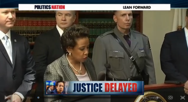 """There's new pressure from the GOP urging the Senate to block Loretta Lynch's confirmation, with 8 Republicans saying she's """"unfit."""" Rev. Sharpton talks to Pamela Meanes, President of the National Bar Association, and Ryan Grimm about the accusations."""