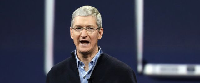 FILE - In this Monday, March 9, 2015, file photo, Apple CEO Tim Cook speaks during an Apple event in San Francisco. Cook is joining a long list of magnates promising to give away most of the wealth that they amass during their careers. Cook mentioned his intentions in a story about him released Thursday, March 26, 2015, by Fortune magazine. After paying for the college education of his 10-year-old nephew, Cook says he will donate the rest of his money to philanthropic causes. (AP Photo/Eric Risb | ASSOCIATED PRESS