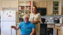 Angelo and Mina Maffucci were living on coffee before calling a food pantry for help. Photo by Ariel Min/PBS NewsHour