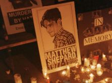 Nyc 10/19/98 Candlelight Vigil For Slain Gay Wyoming Student Matthew Shepard.  (Photo By Evan Agostini/Getty Images)